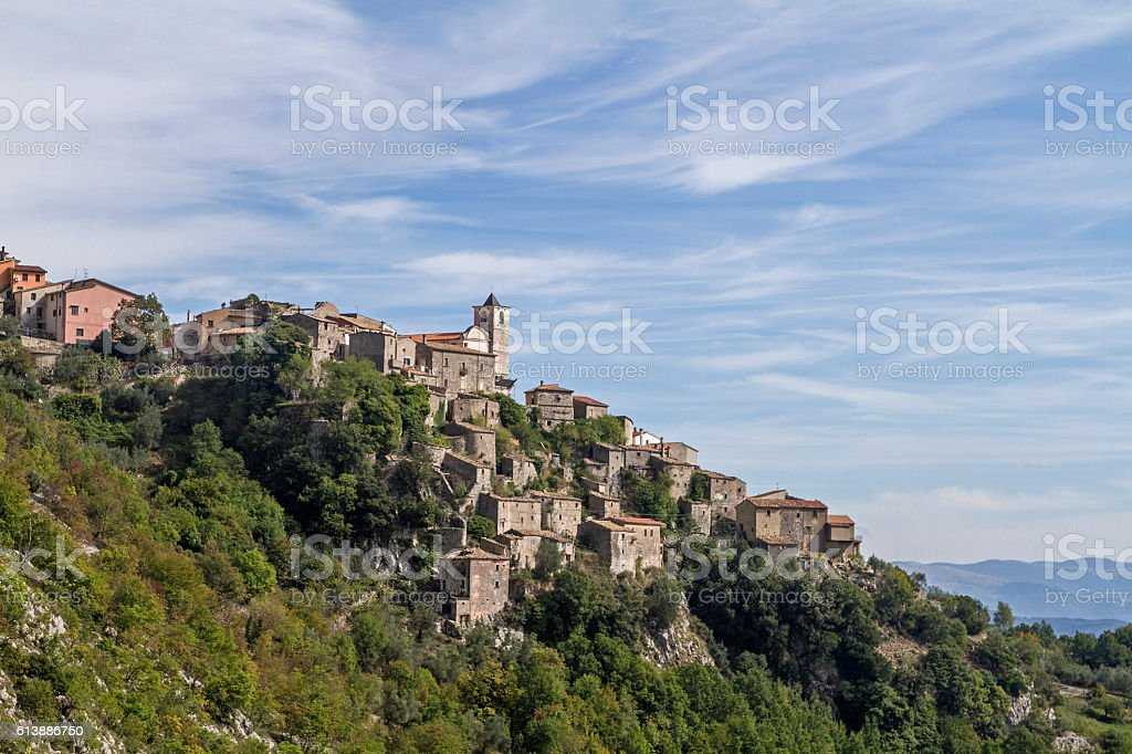 Castelnuova a Volturno stock photo
