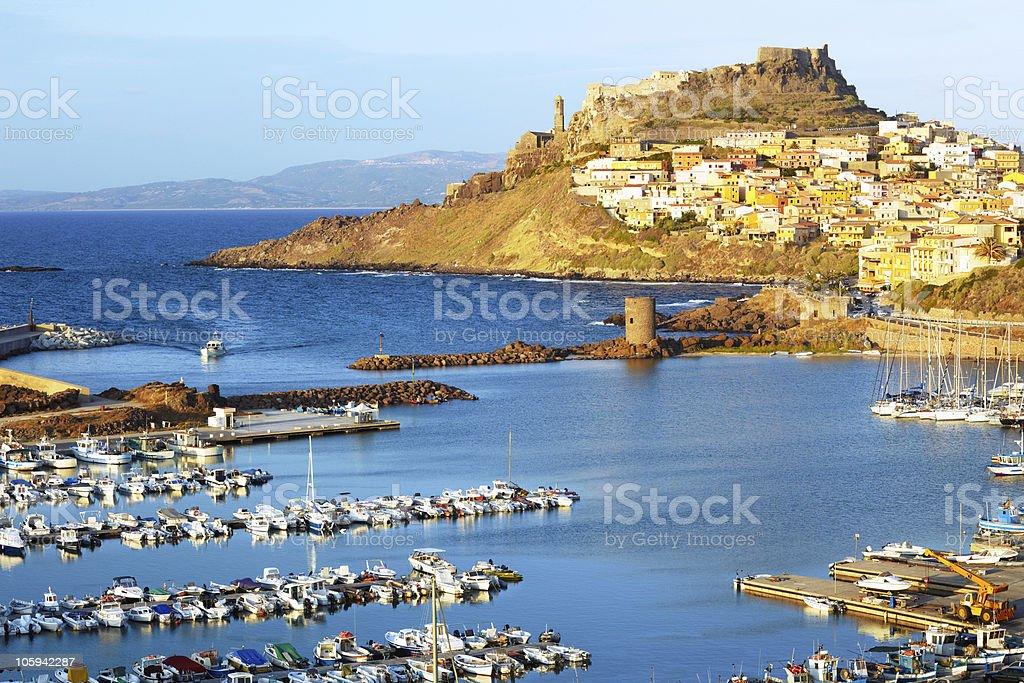 Castelsardo, Sardinia stock photo