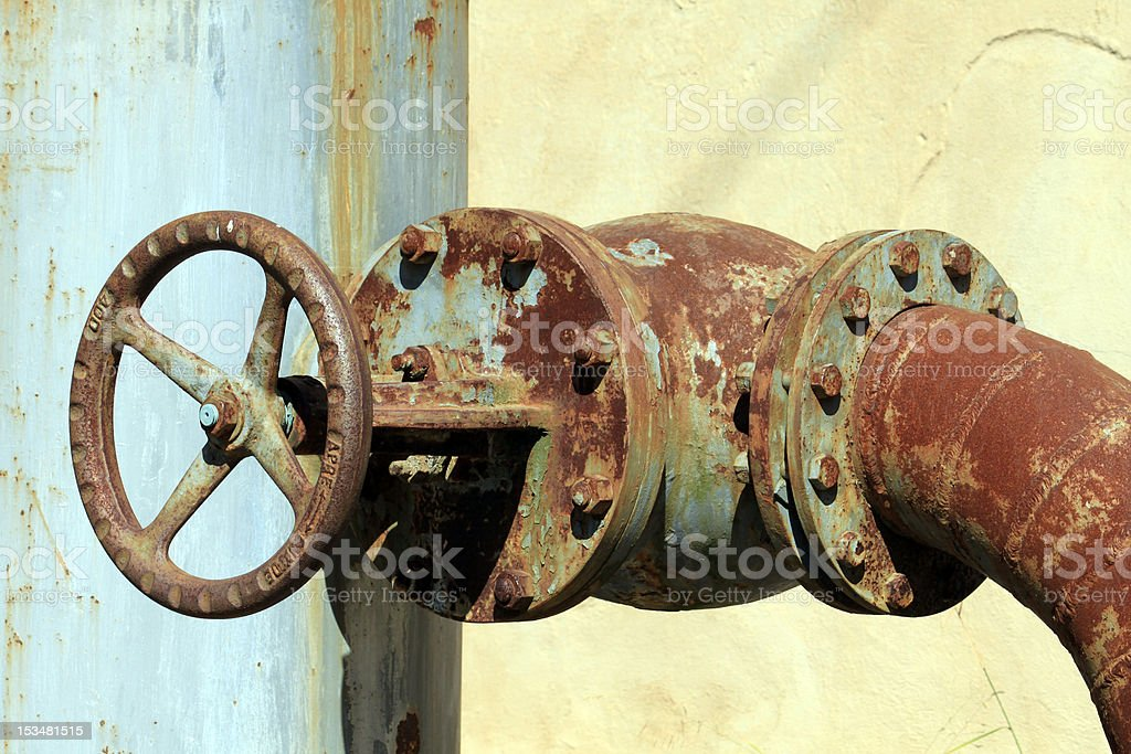 Castelvecchio old mining camp royalty-free stock photo