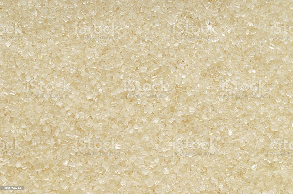 Caster Cane Sugar background royalty-free stock photo