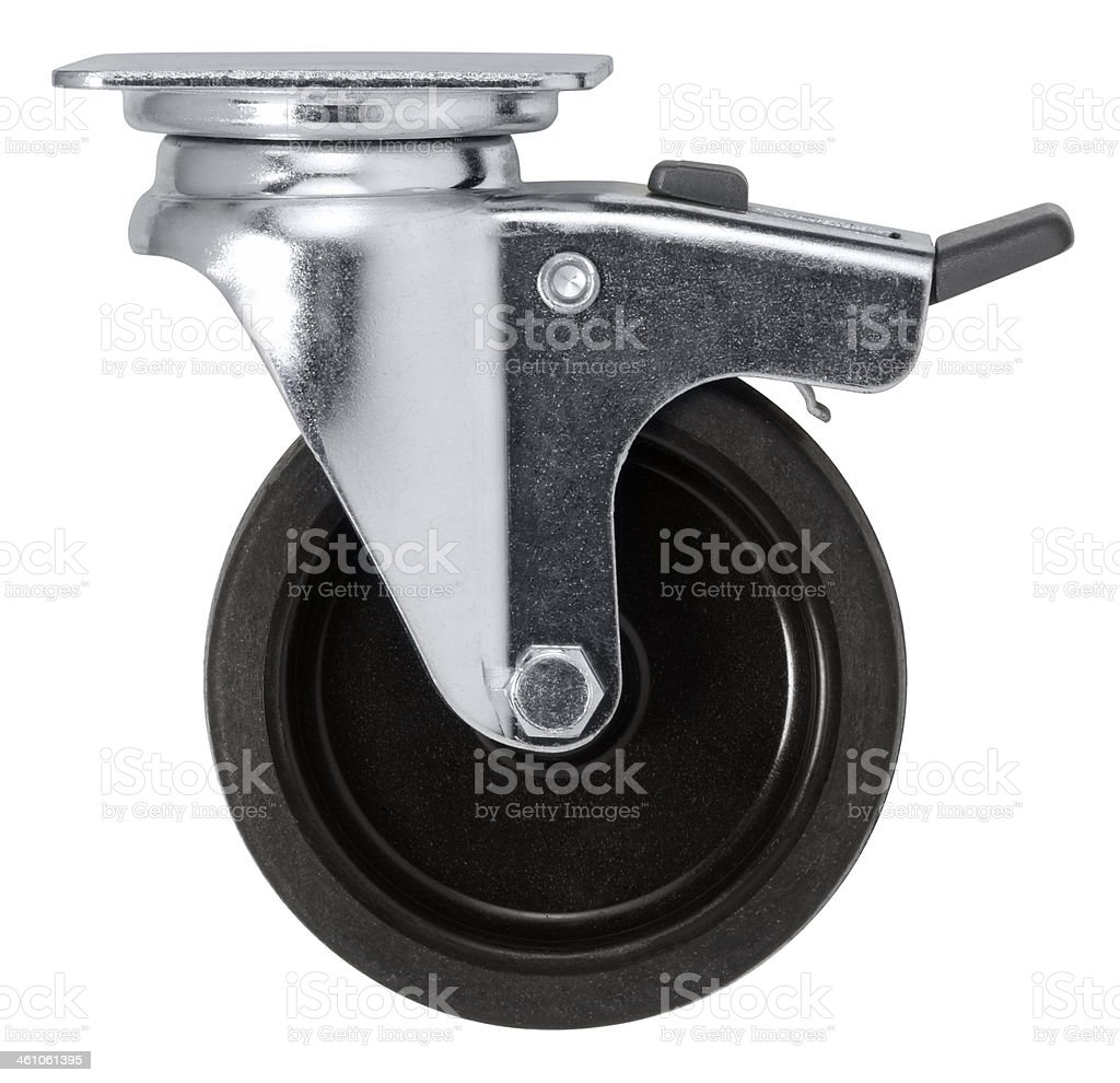 Caster stock photo