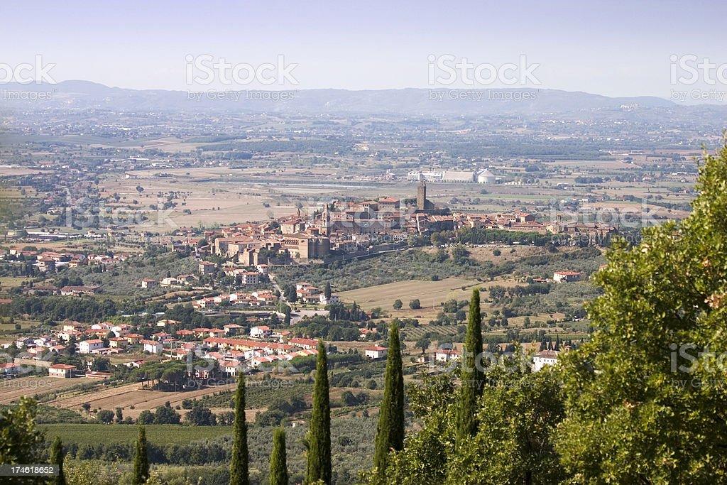 Castiglion Fiorentino Tuscany stock photo