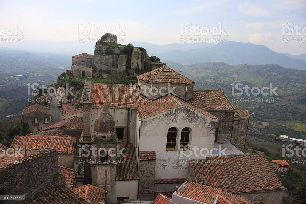 Castiglione di Sicilia stock photo