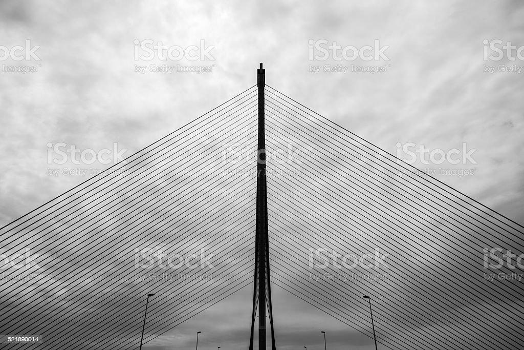 Castilla-La Mancha bridge in Talavera stock photo