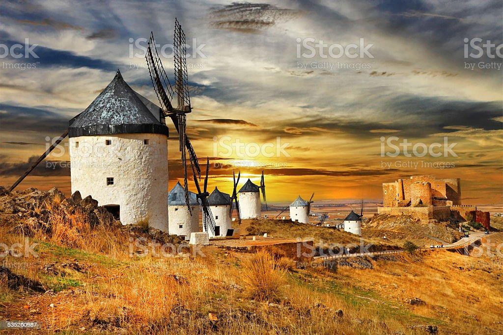 Castilla,la mancha,Spain stock photo