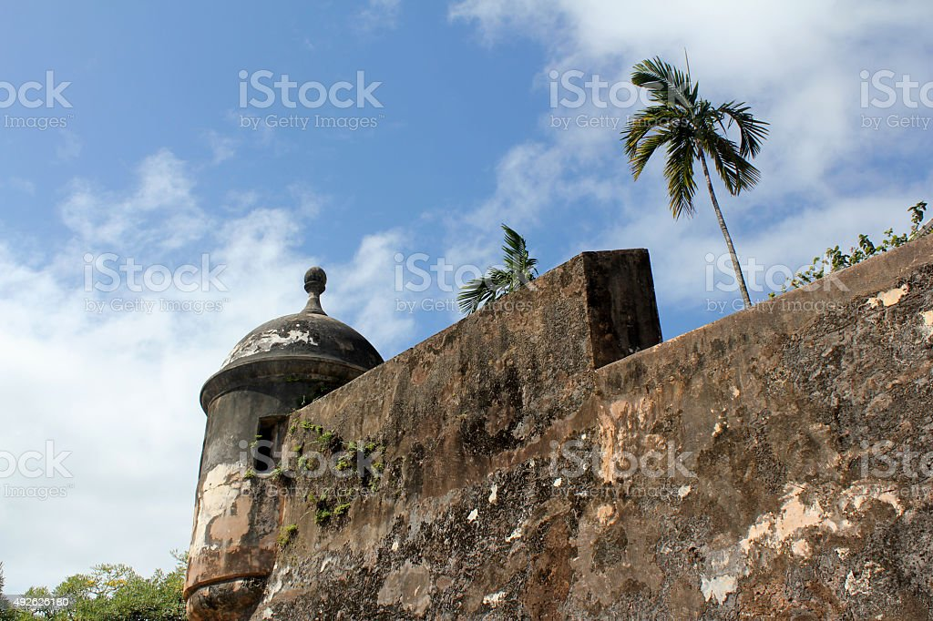Castillo de San Felipe del Morro, San Juan, Puerto Rico stock photo