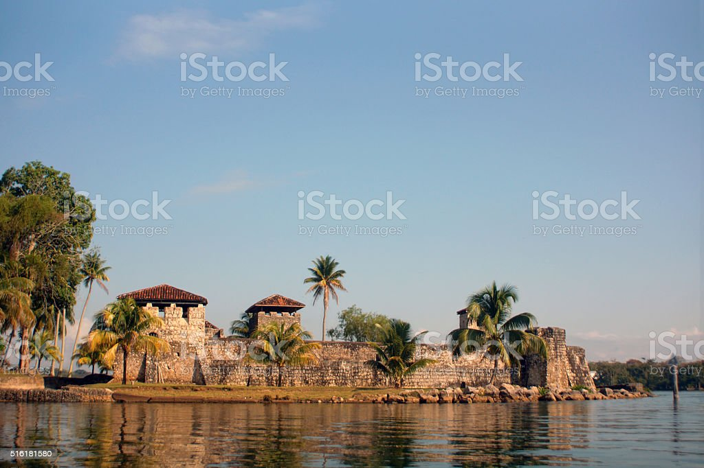 Castillo de San Felipe stock photo