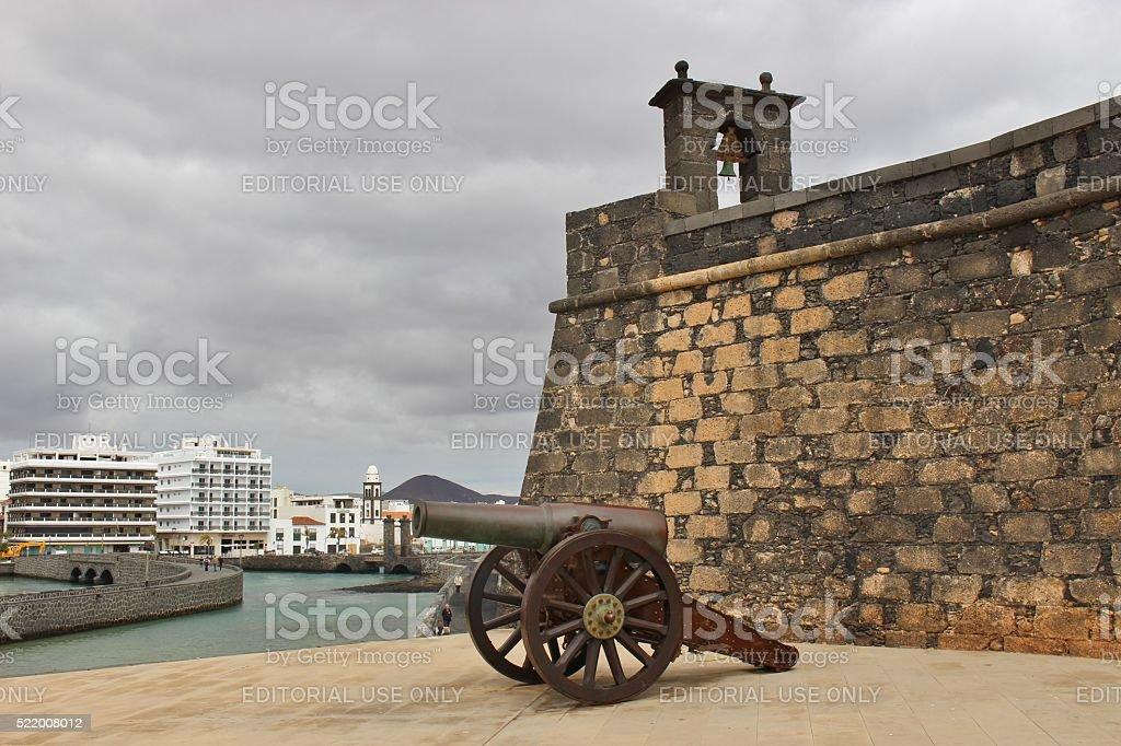 Castillo de San Gabriel in Arrecife, Lanzarote, Canary Islands stock photo
