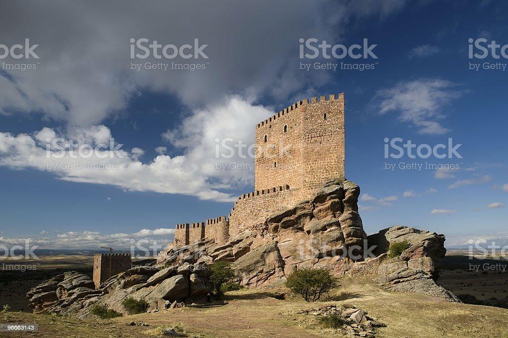 Castillo de Zafra stock photo