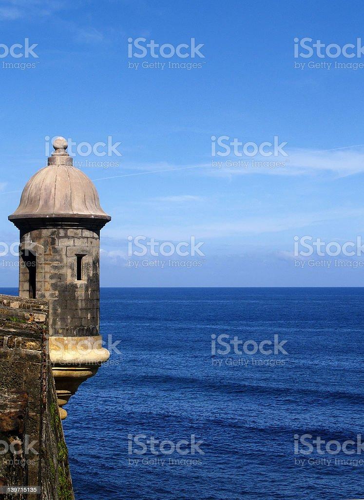 Castillo El Morro stock photo