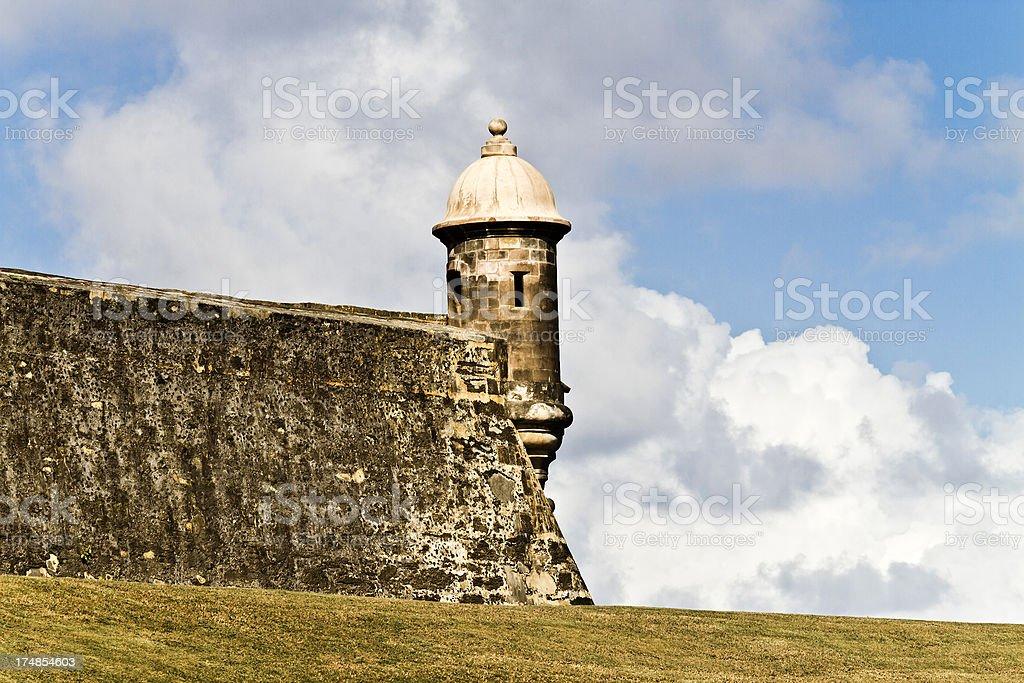 Castillo El Morro royalty-free stock photo