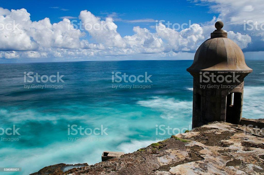 Castillo San Felipe del Morro 'El Morro' in San Juan Puerto Rico stock photo