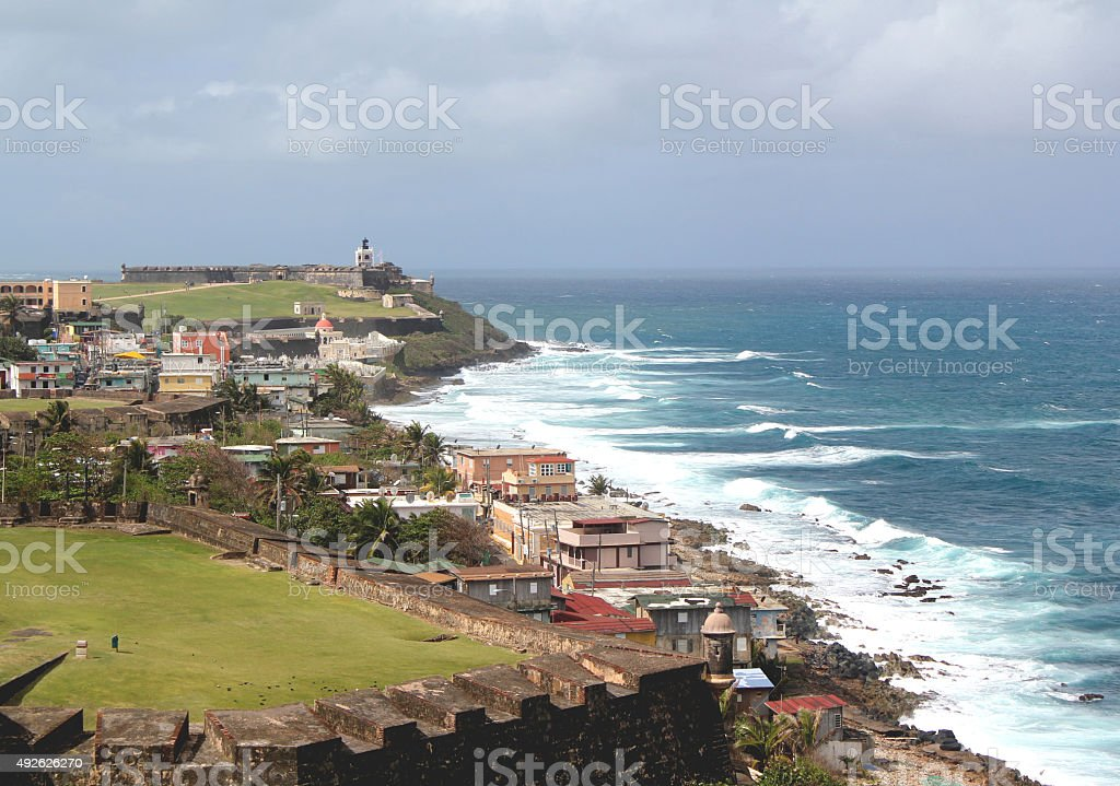 Castillo San Felipe del Morro stock photo