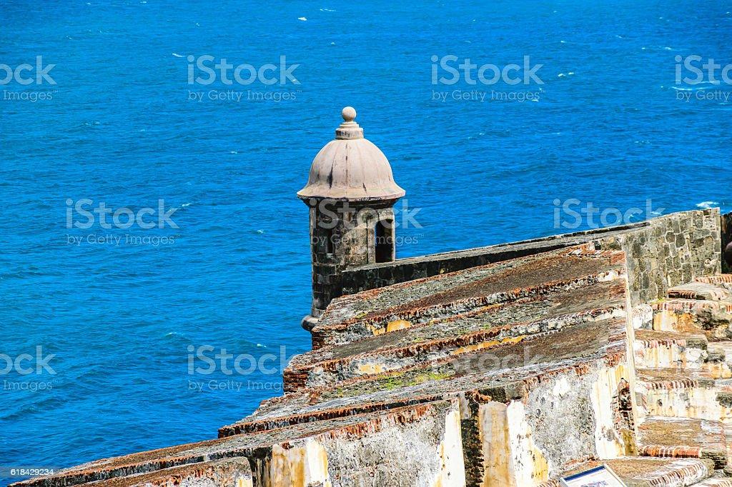 Castillo San Felipe Del Morrro, Old San Juan, Puerto Rico stock photo