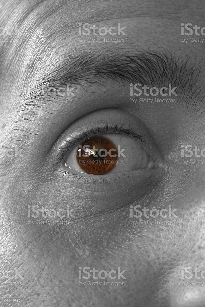 Projetant son hypnotique sortilège photo libre de droits
