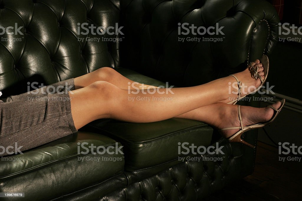 Casting Couch stock photo