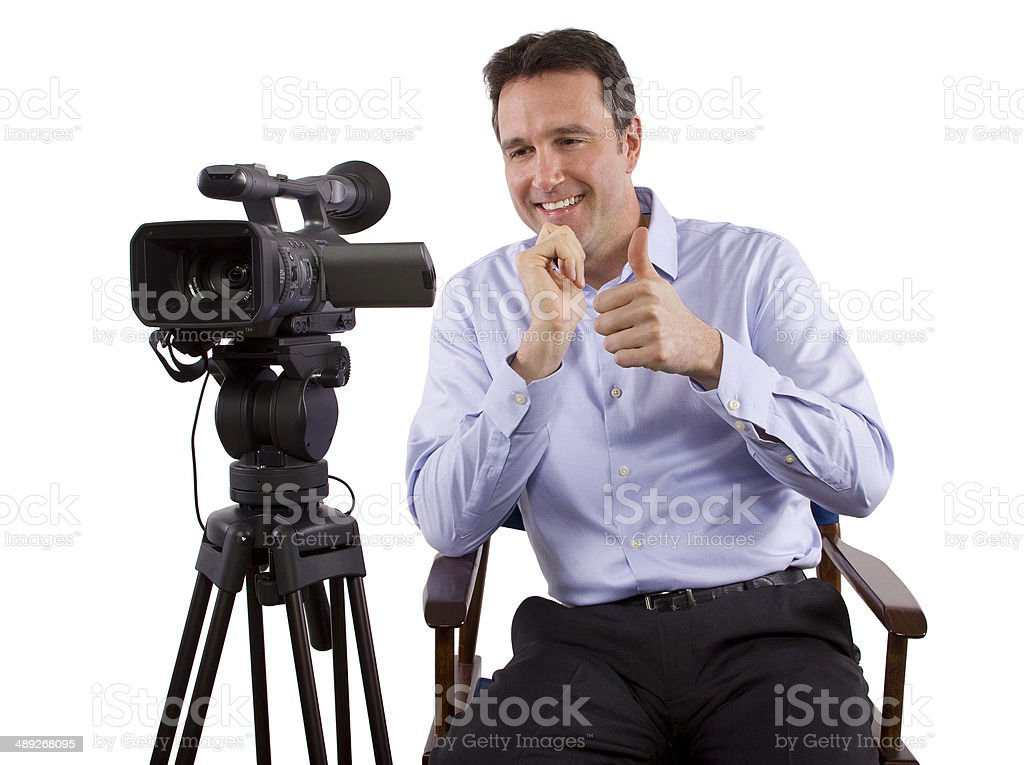 Casting Director stock photo