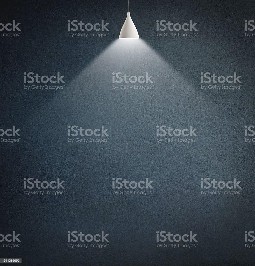 Casting light into the shadows stock photo