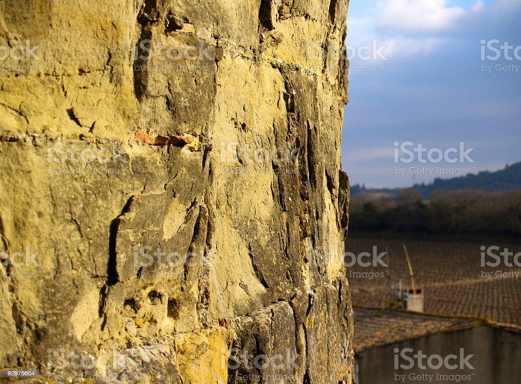 Castle 3 stock photo