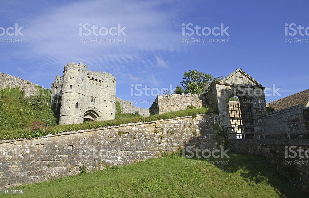Castle and Gatehouse stock photo