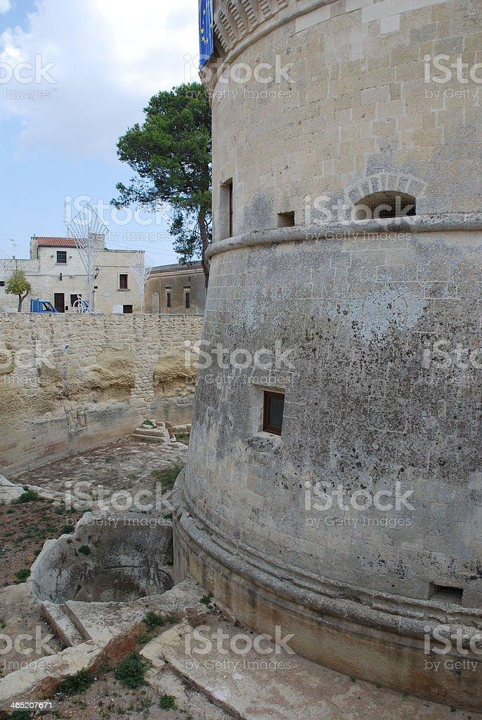 Castle at Acaya royalty-free stock photo