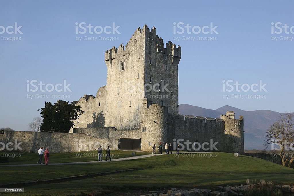 Castle at Killarney, Ireland royalty-free stock photo