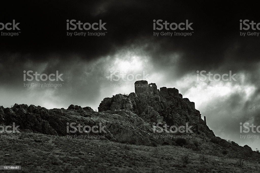 Castle Black stock photo