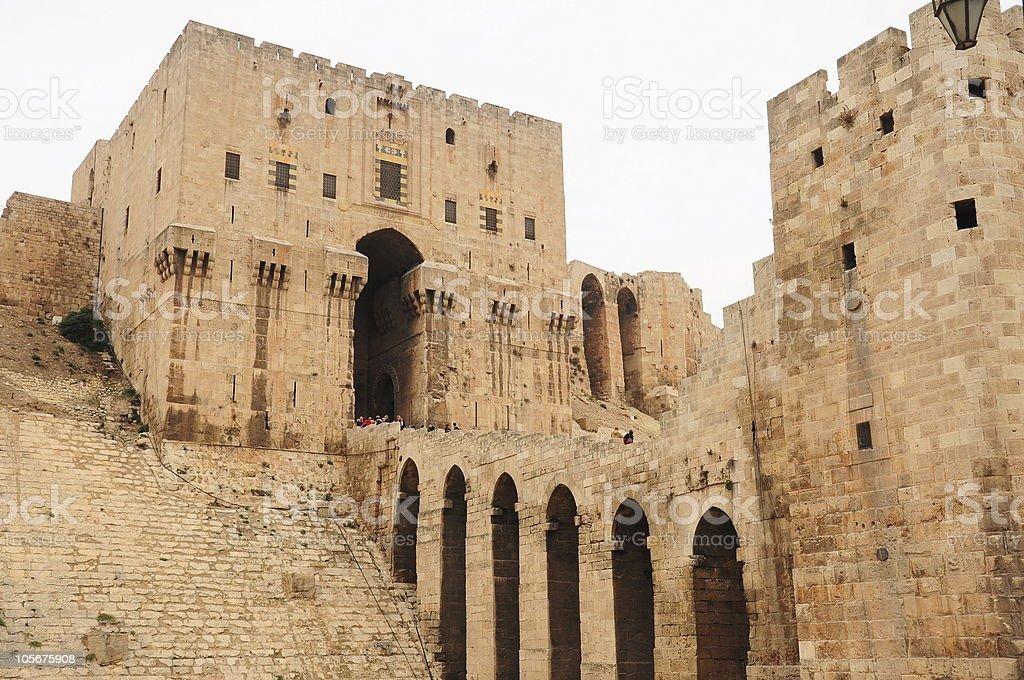 castle - citadel royalty-free stock photo