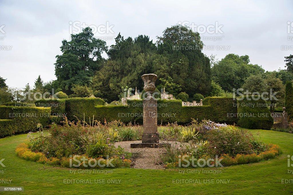 Castle Combe private park, UK stock photo