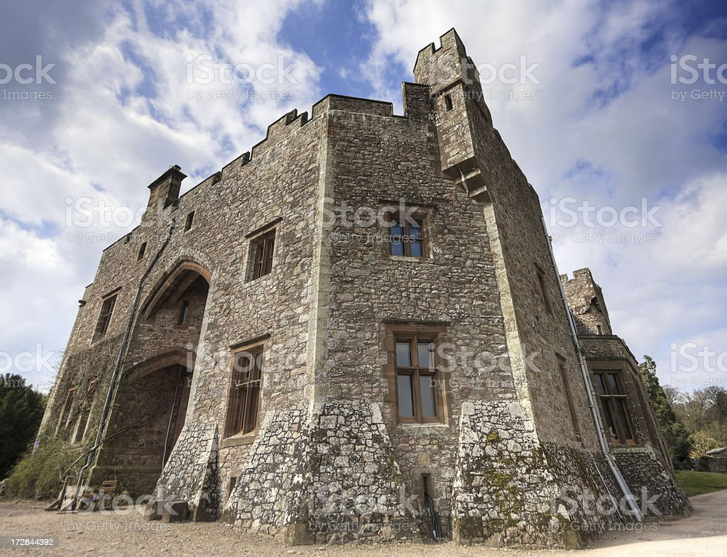 Castle Corner - Wide View royalty-free stock photo