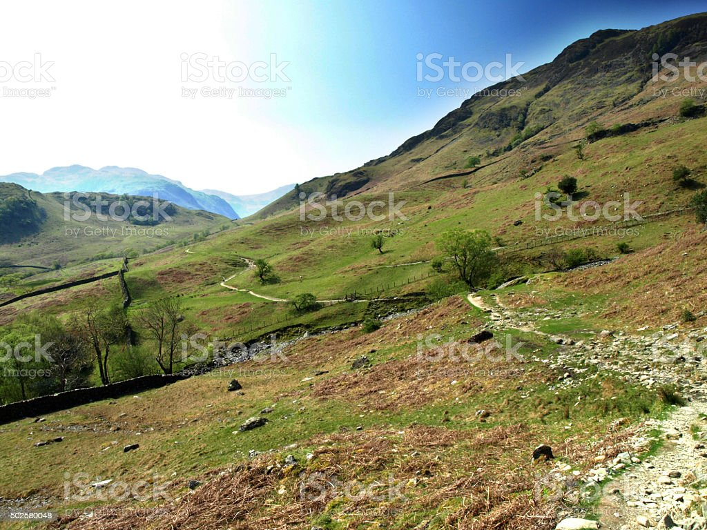 Castle Crag Circuit stock photo