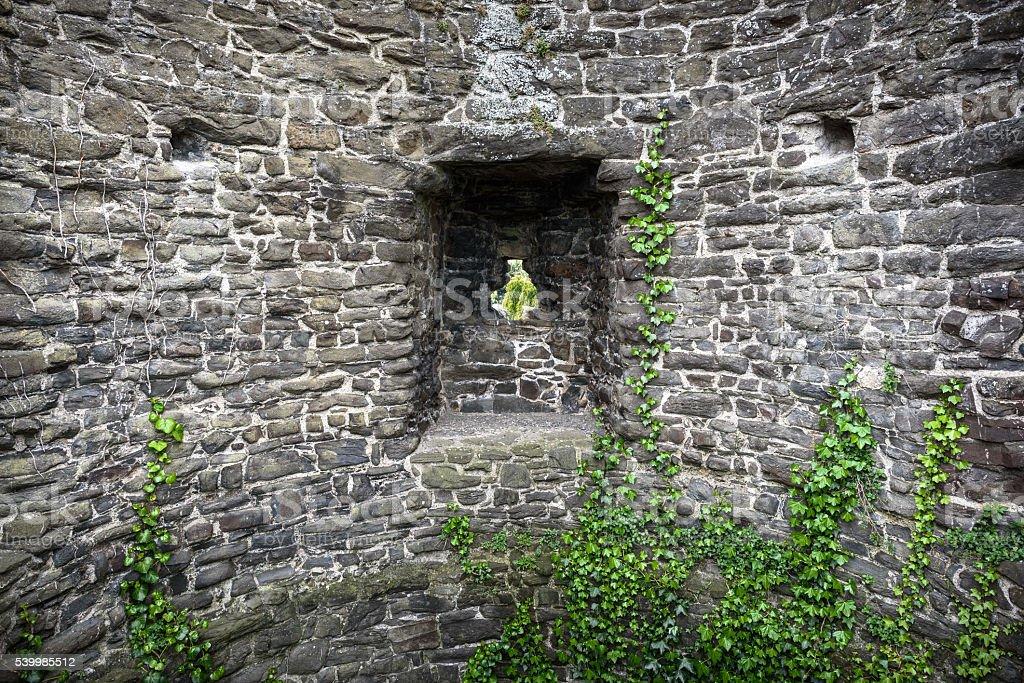 Castle Defense Tower stock photo
