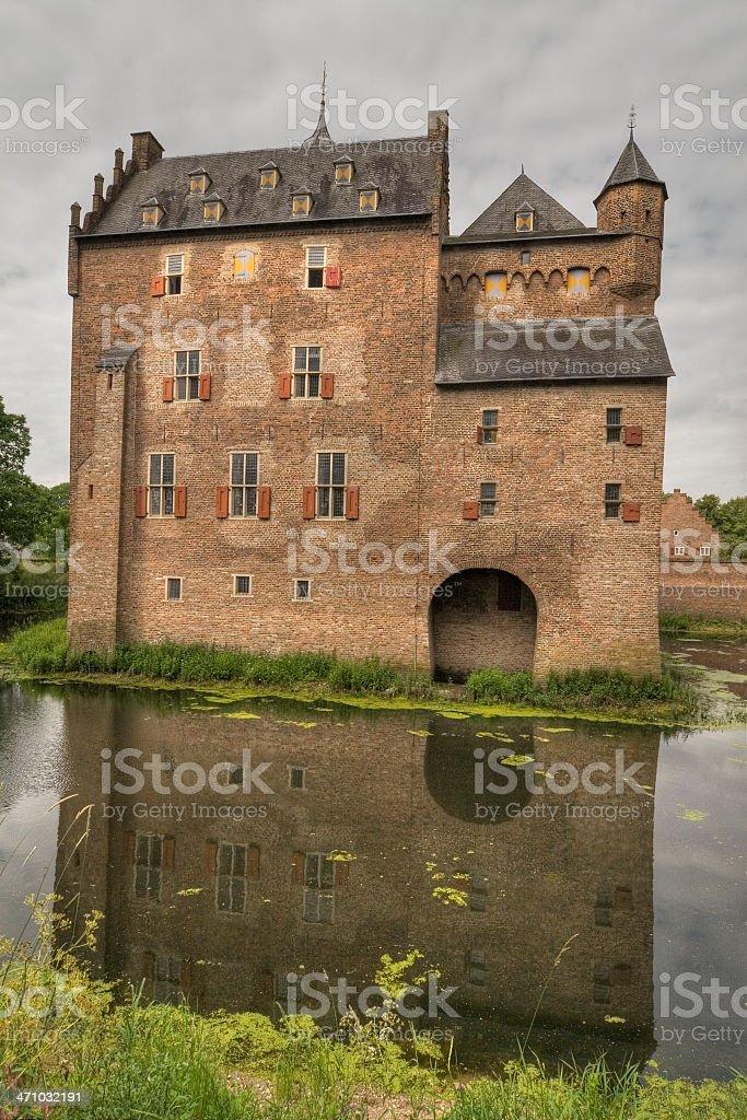 Castle Doorwerth royalty-free stock photo
