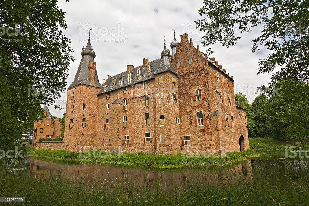 Castle Doorwerth royalty-free stock photo