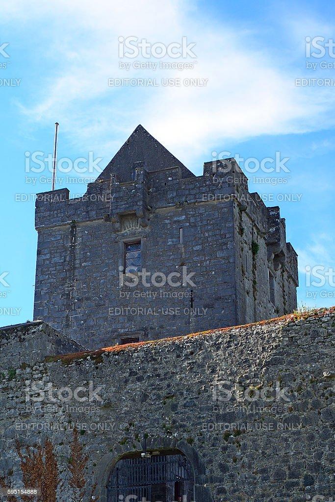 Castle, Dunguaire, Ireland stock photo