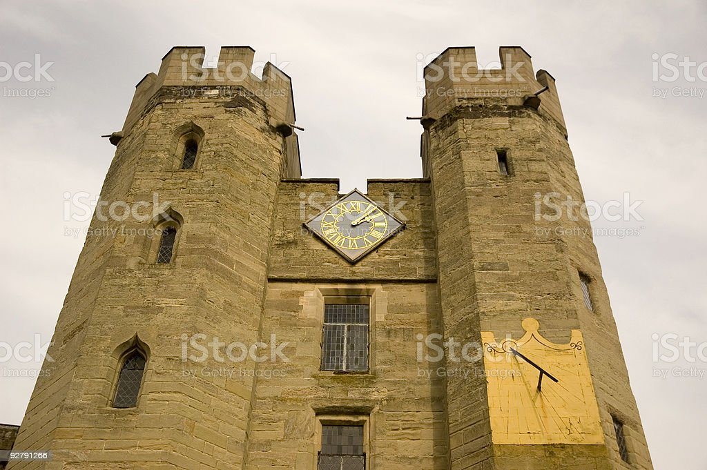 Castle, England royalty-free stock photo