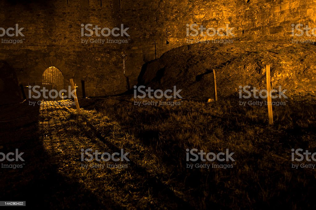 Castle entrance royalty-free stock photo