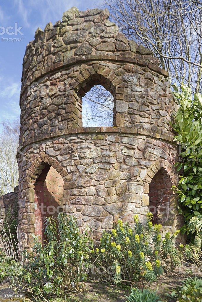 Castle Folly royalty-free stock photo