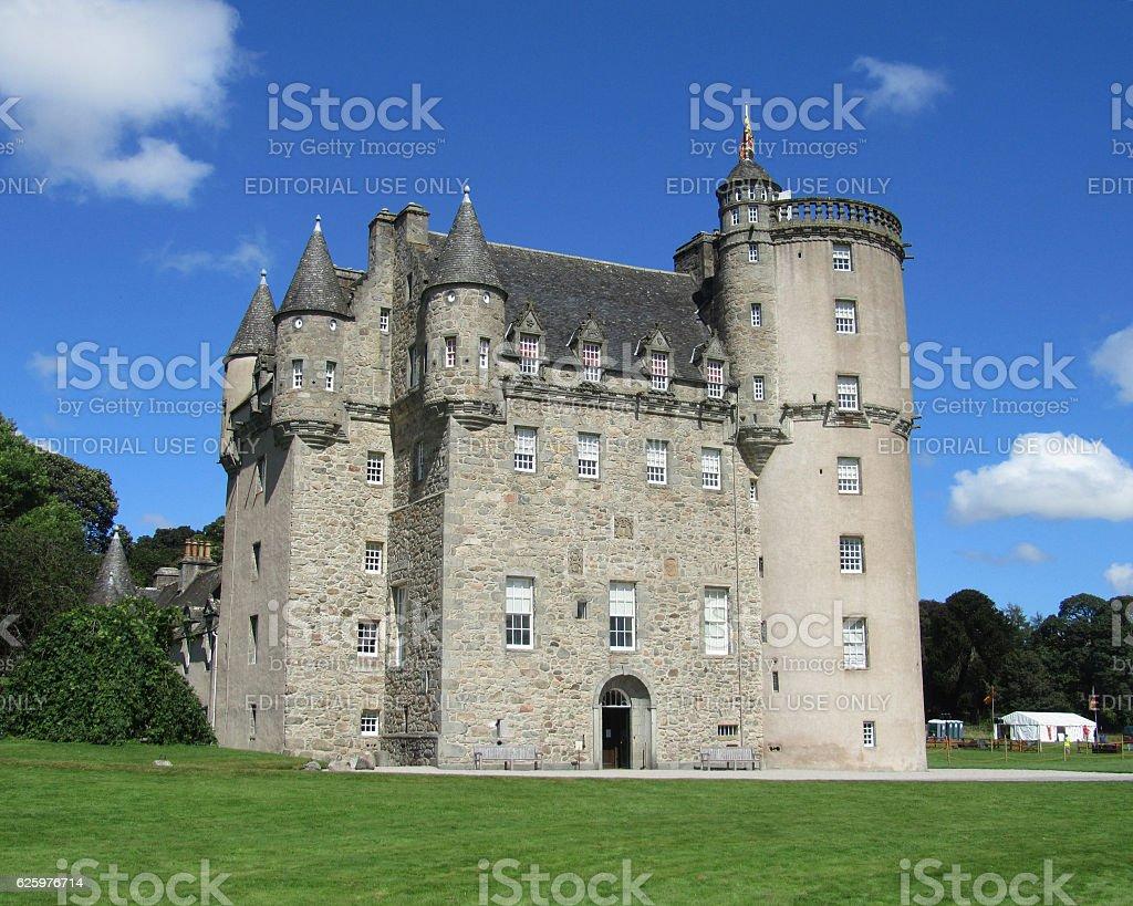 Castle Fraser stock photo