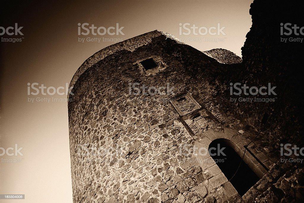 Castle Gateway stock photo