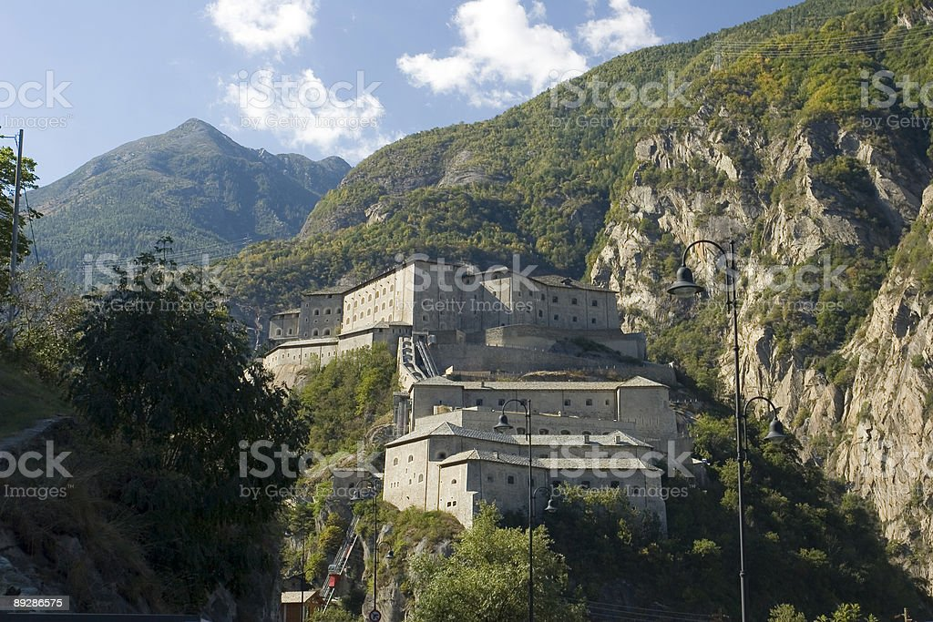 Castello di Verres royalty-free stock photo