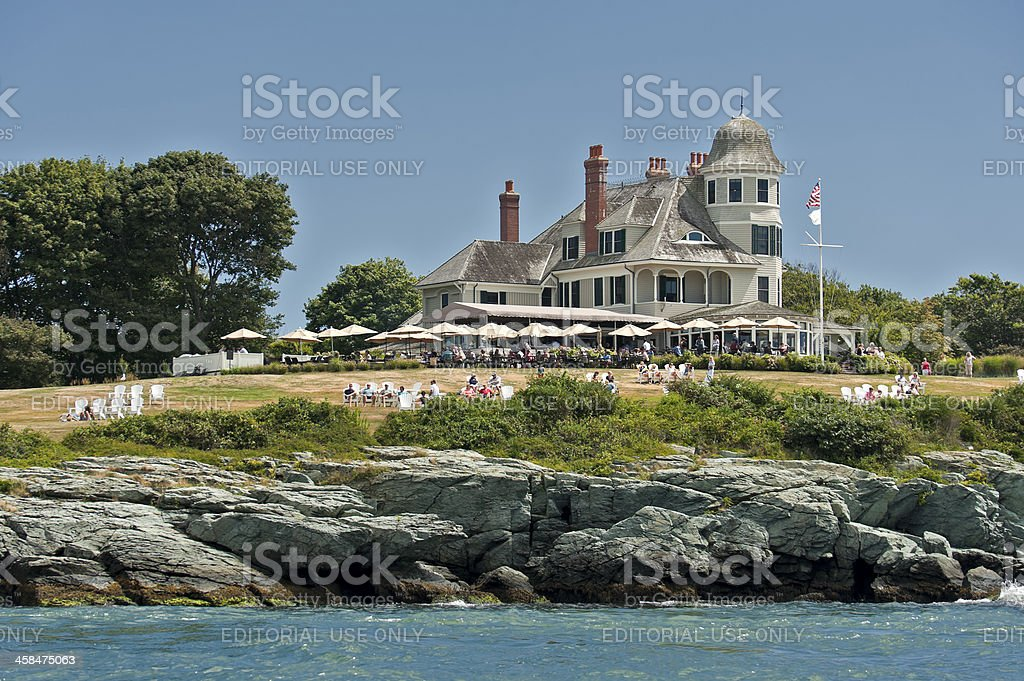 Castle Hill Bed and Breakfast Hotel stock photo