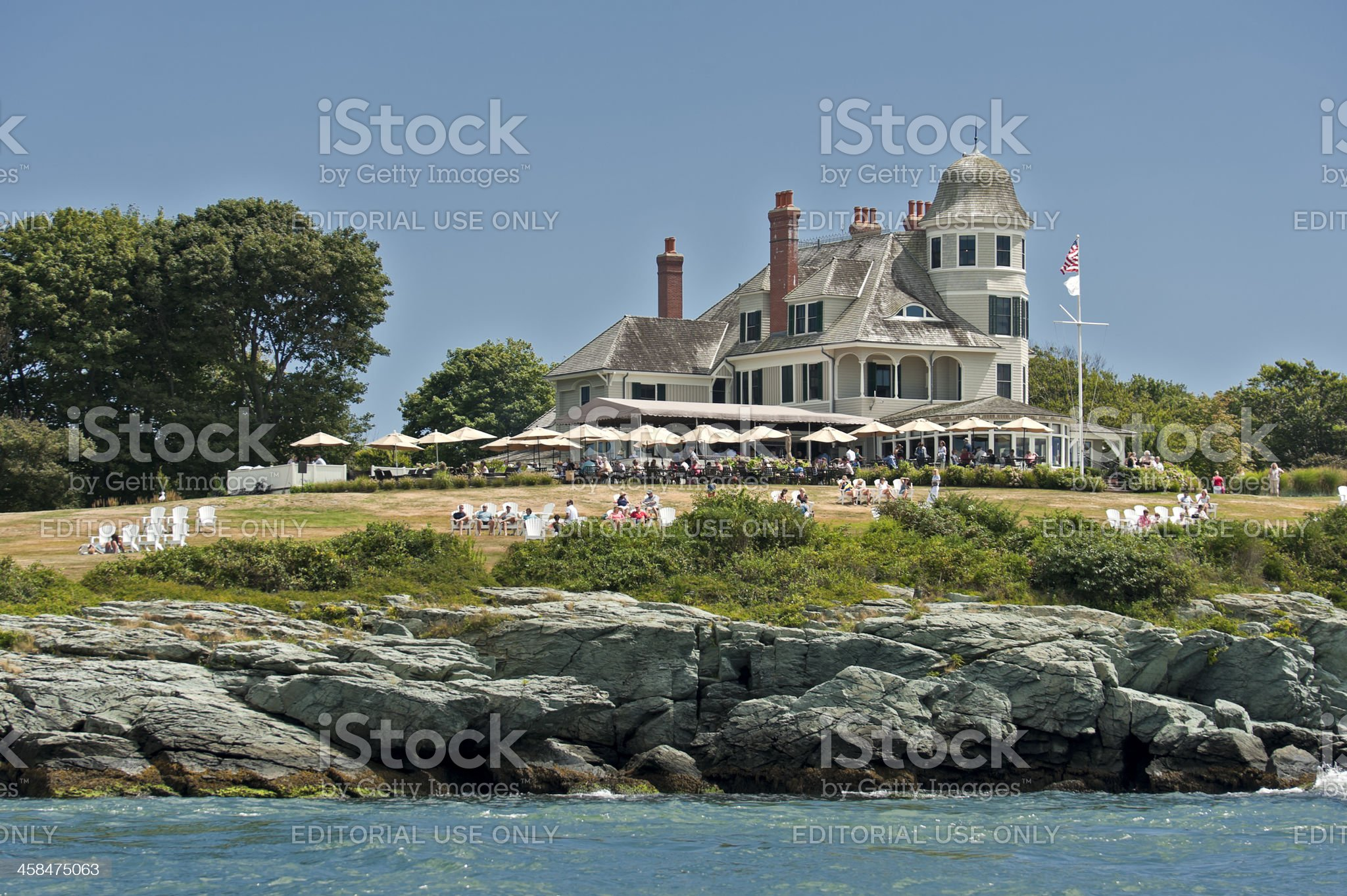 Castle Hill Bed and Breakfast Hotel royalty-free stock photo