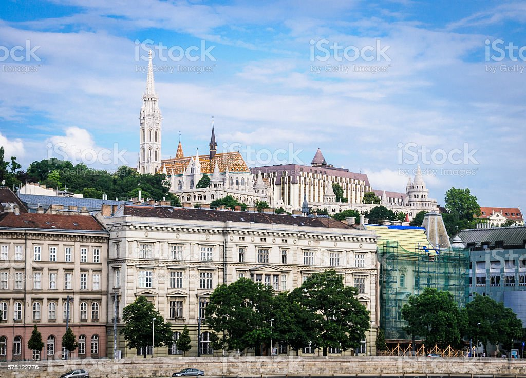 Castle Hill, Budapest stock photo