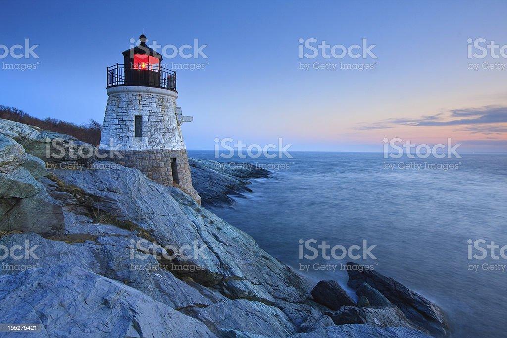 Castle Hill Lighthouse stock photo