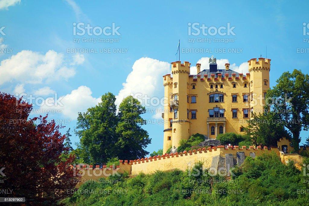 Castle Hohenschwangau stock photo