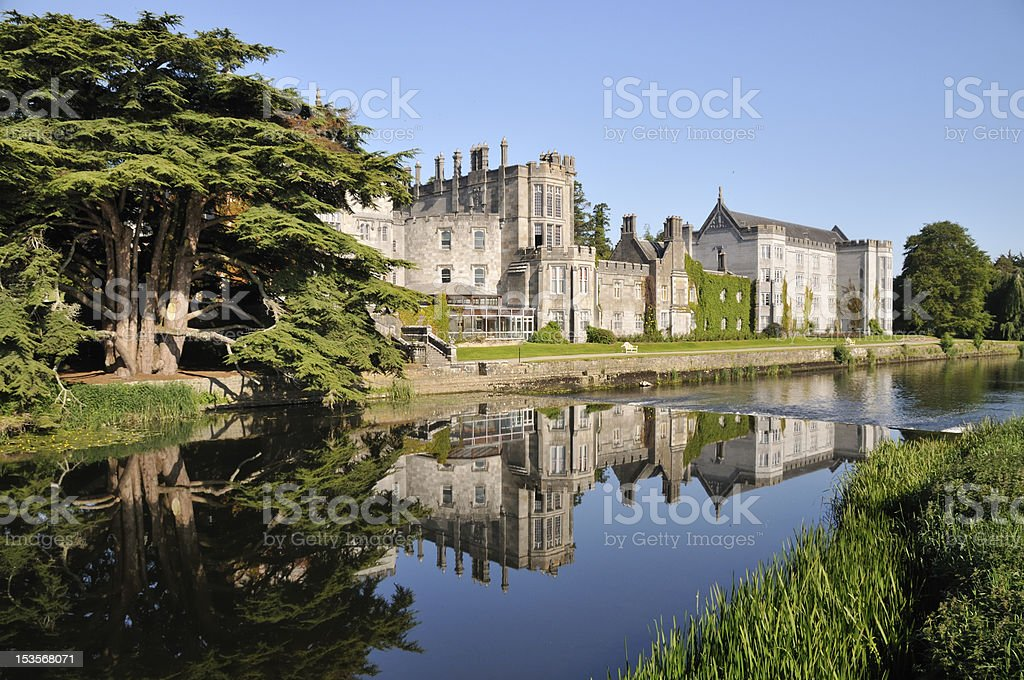 Castle Hotel Adare Manor, Ireland stock photo