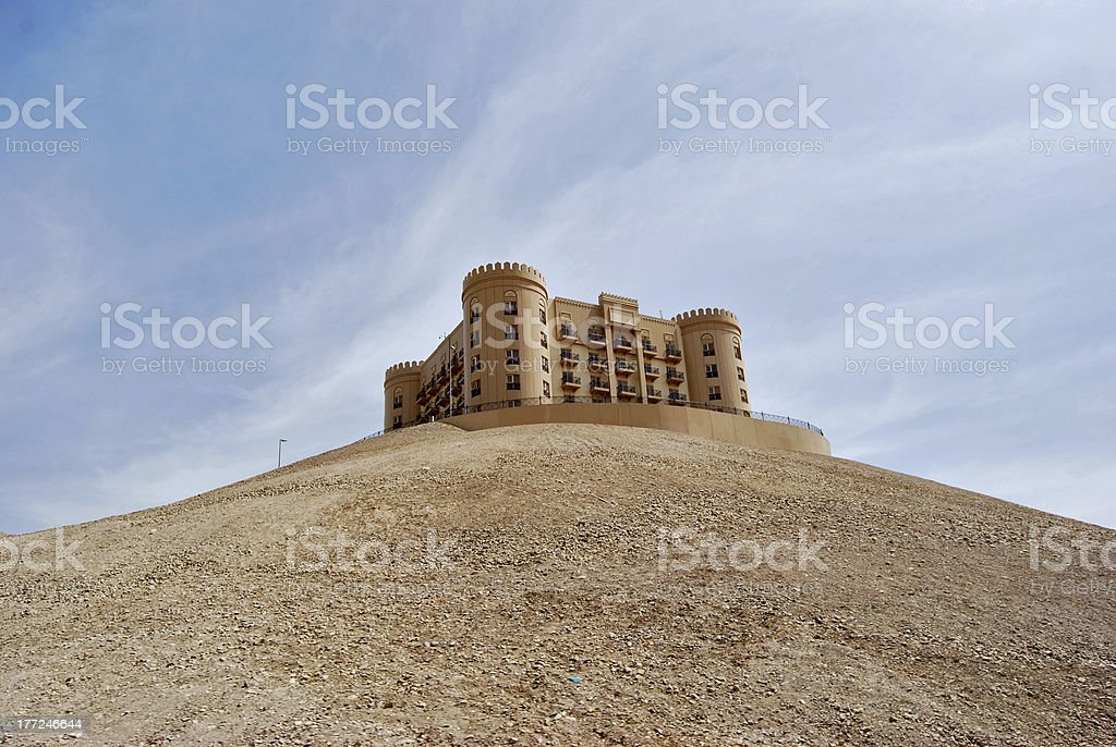 Castle Hotel stock photo