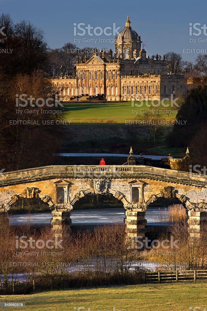 Castle Howard - North Yorkshire - United Kingdom stock photo