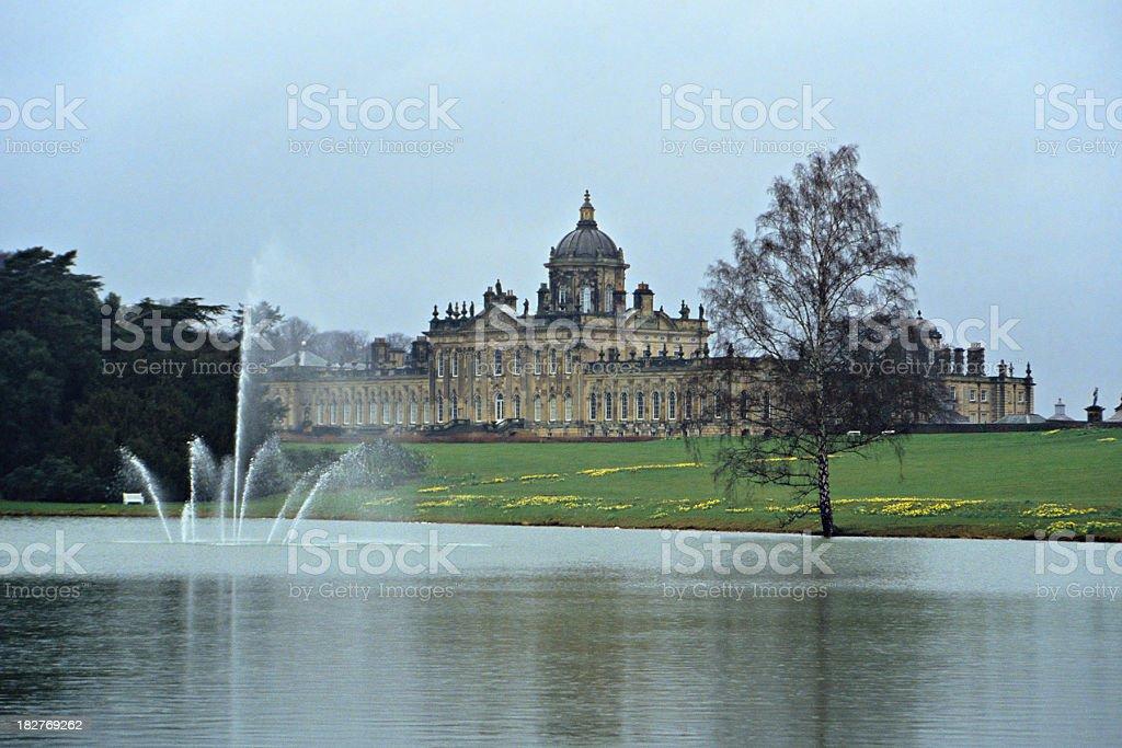 Castle Howard stock photo
